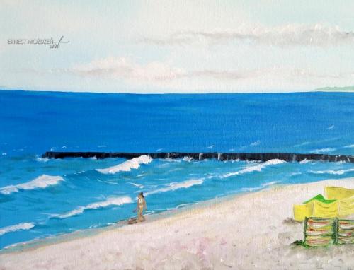 Na plaży z bliska 2