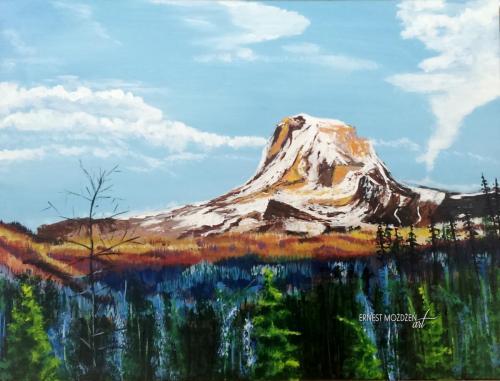 Góra nr 1. 40x30 cm.