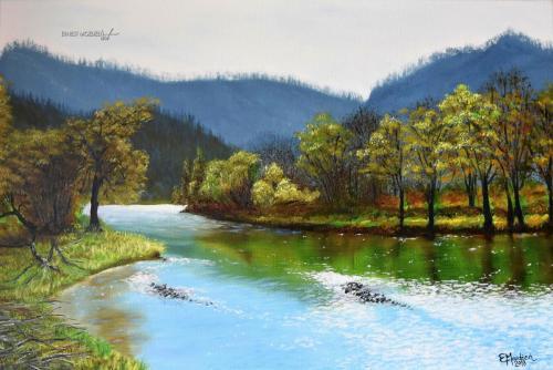 Spacer nad rzeką